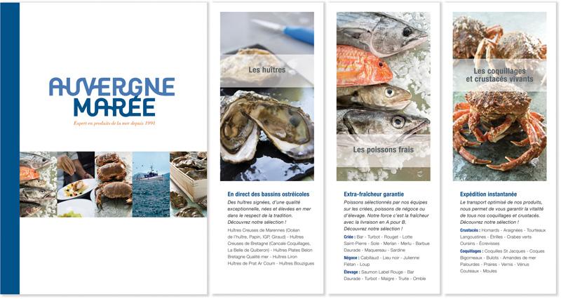 Brochure Auvergne Marée