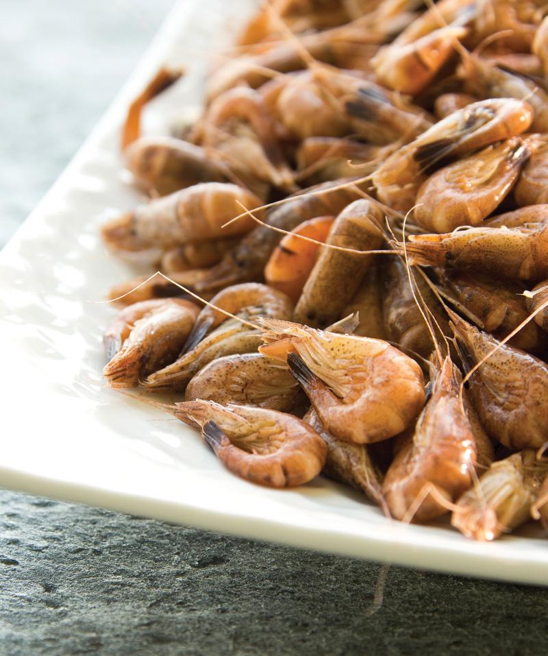 Crevettes, grises, cuites, crustacés, coquillages, auvergne maree